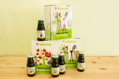 Директен сок 100% чист без добавки с марка naberini