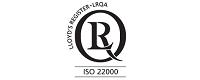 сертификат за качество на мандра Кондов Екопродукция ЕООД