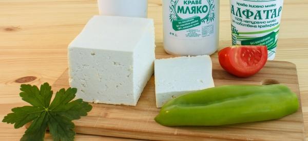 бяло истинско сирене от Млекарница От фермата